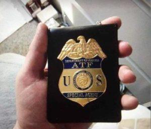 Fake ATF Badge