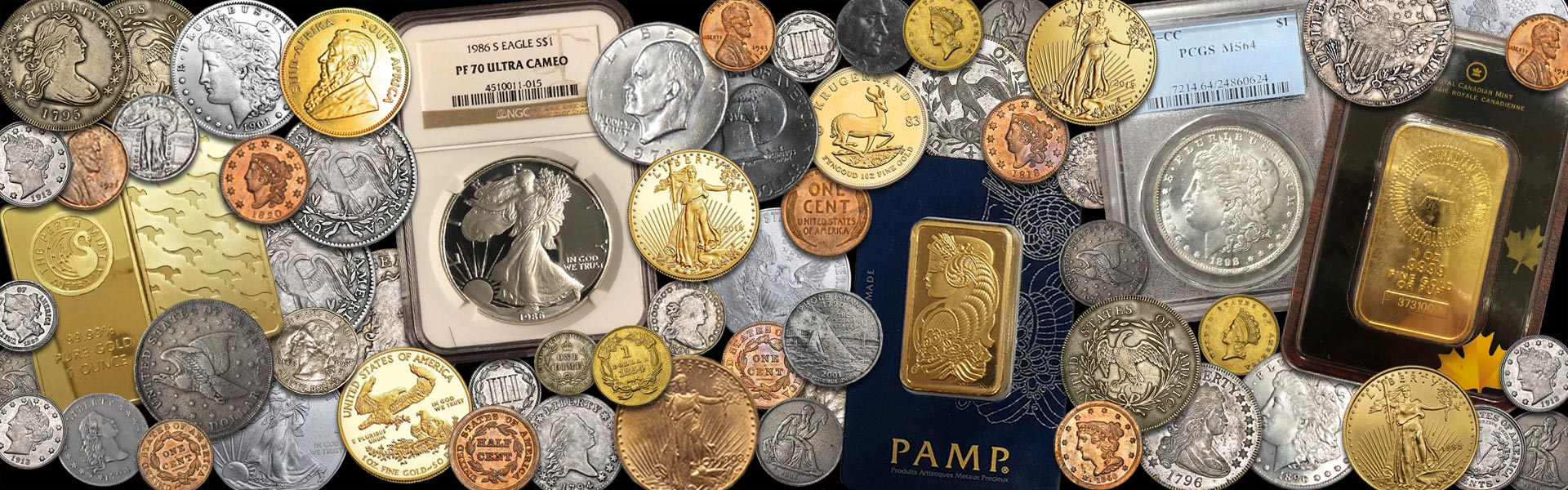 Can you spot the counterfeit coins and bars?