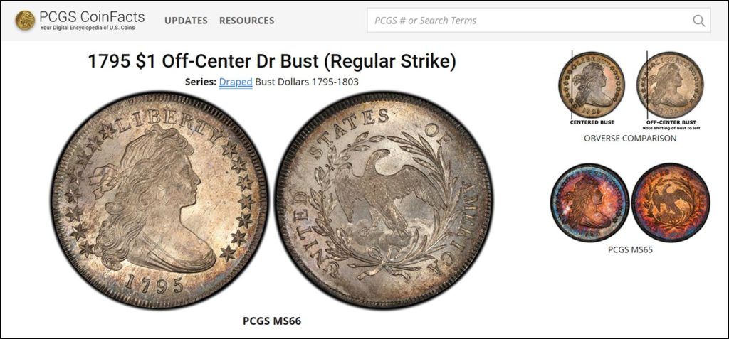 ACEF PCGS Coin Facts